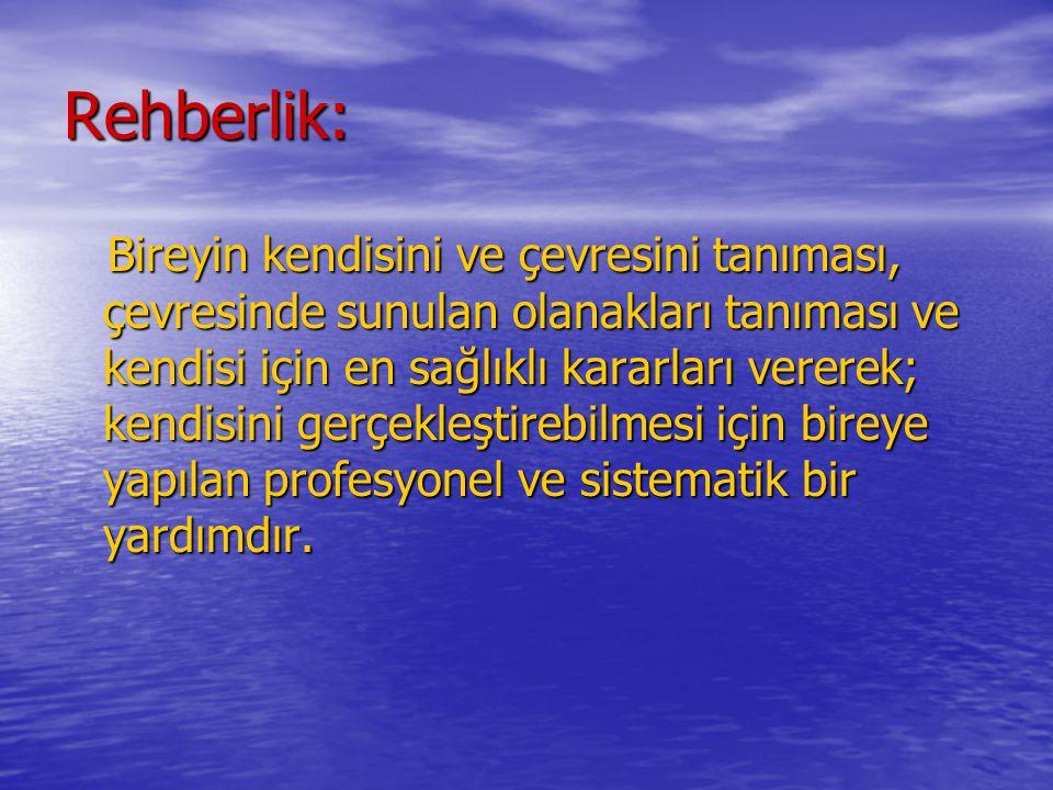 Rehberlik: