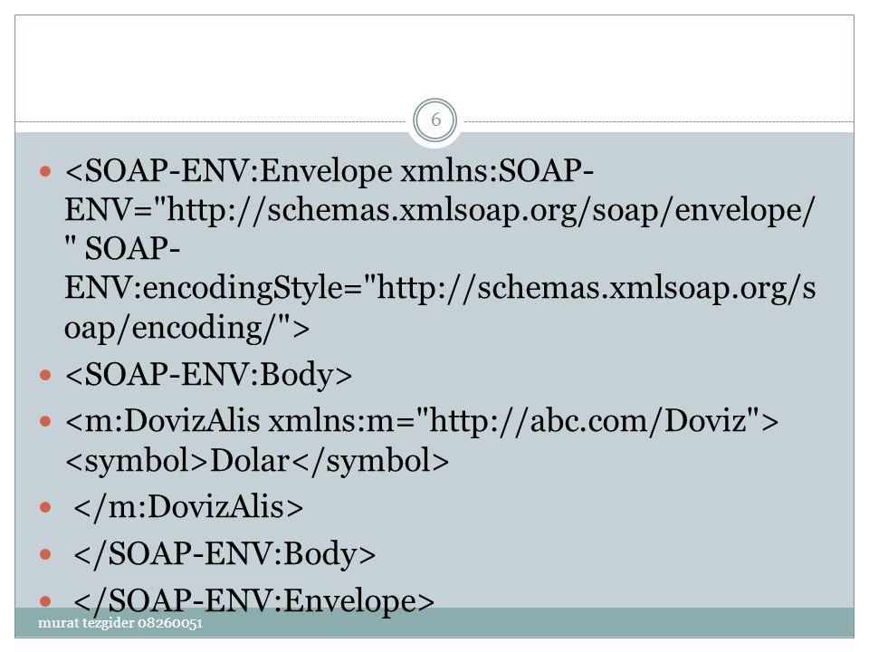 <SOAP-ENV:Body>