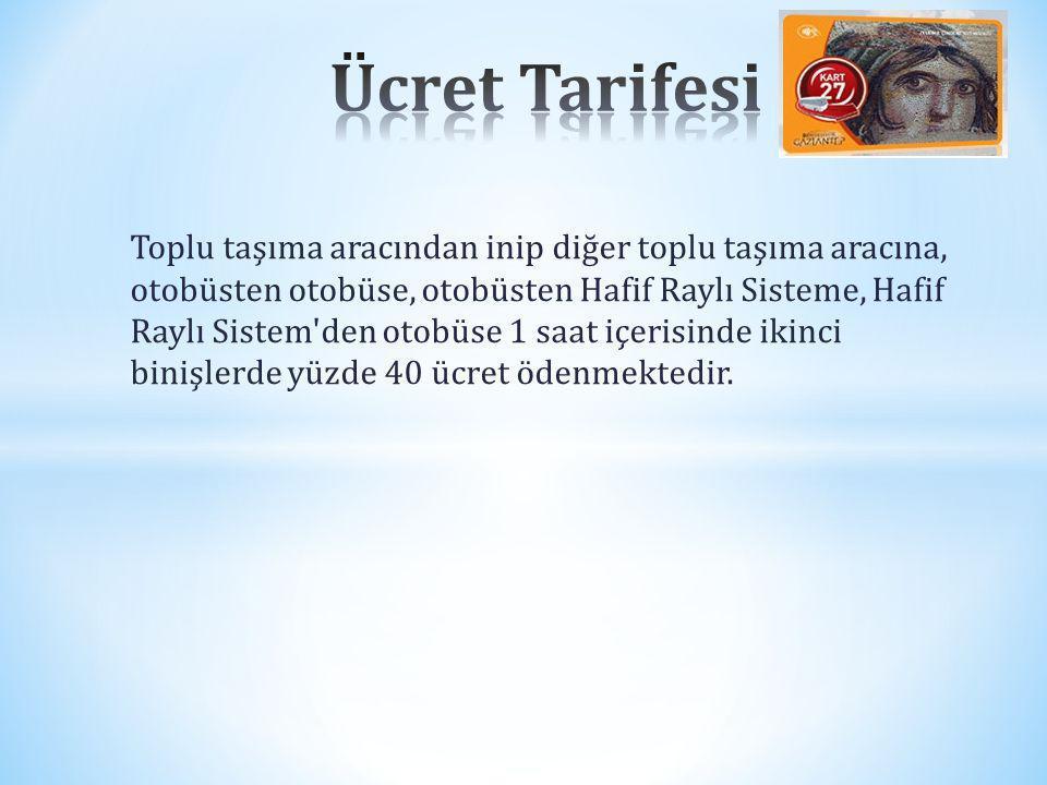 Ücret Tarifesi