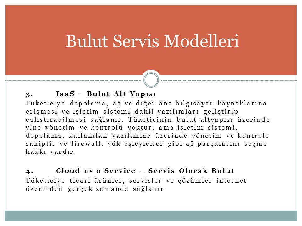 Bulut Servis Modelleri