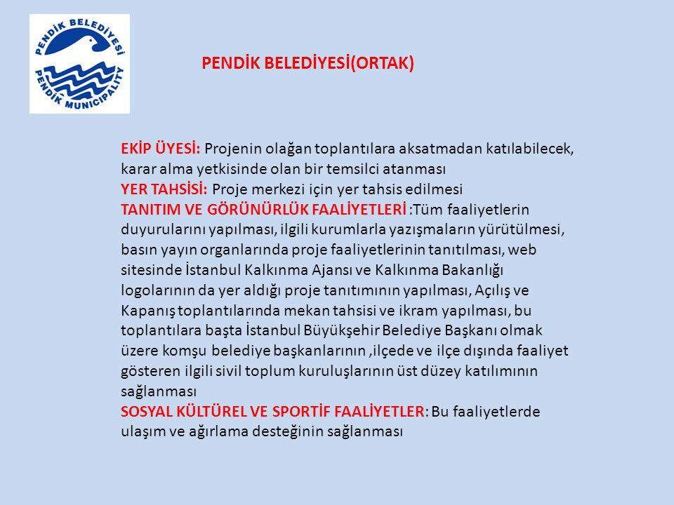 PENDİK BELEDİYESİ(ORTAK)