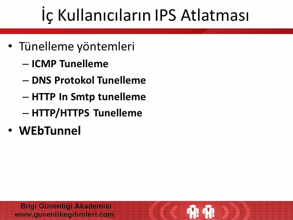 İç Kullanıcıların IPS Atlatması