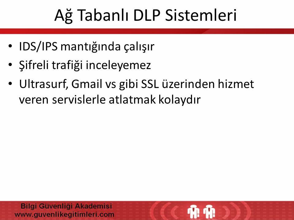 Ağ Tabanlı DLP Sistemleri