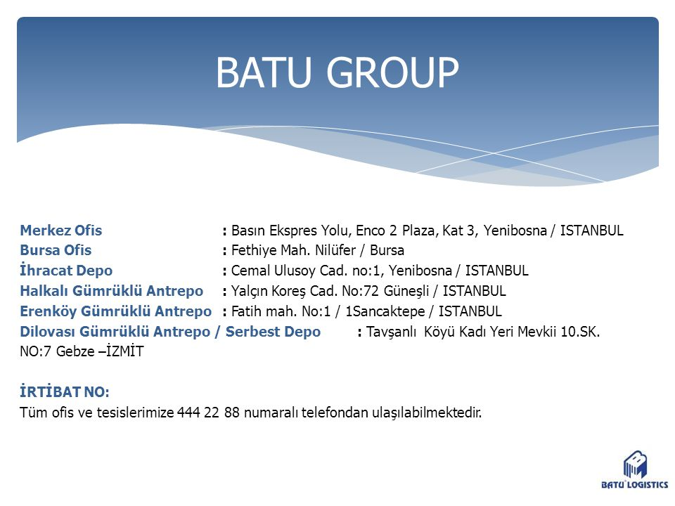 BATU GROUP