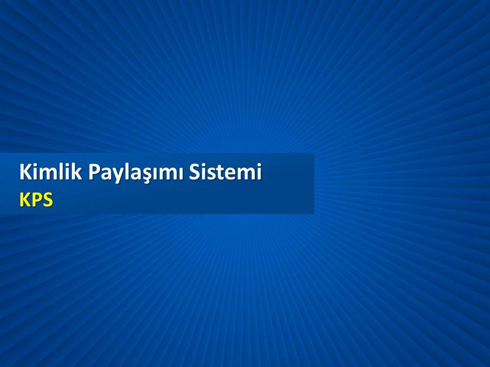 Kimlik Paylaşımı Sistemi KPS