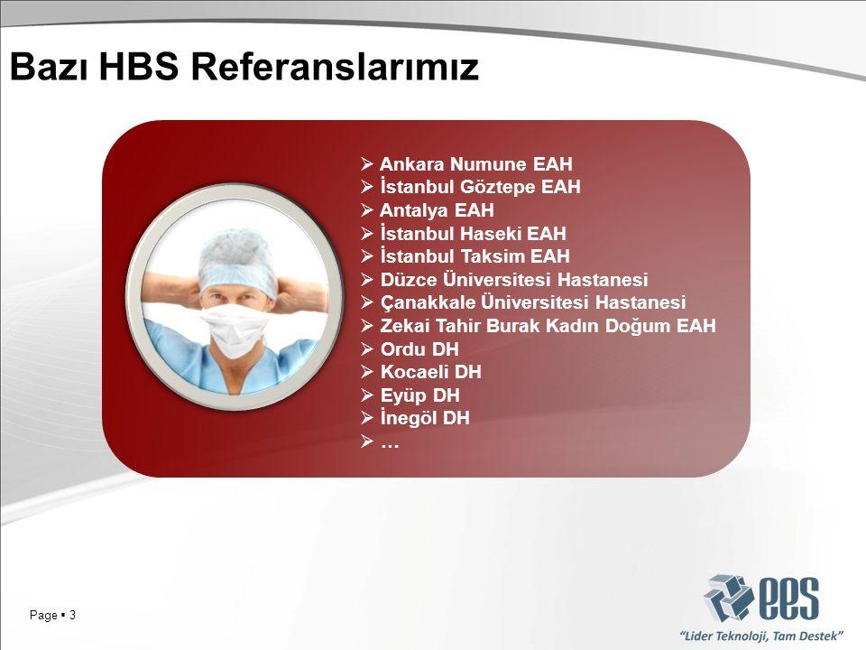 Bazı HBS Referanslarımız