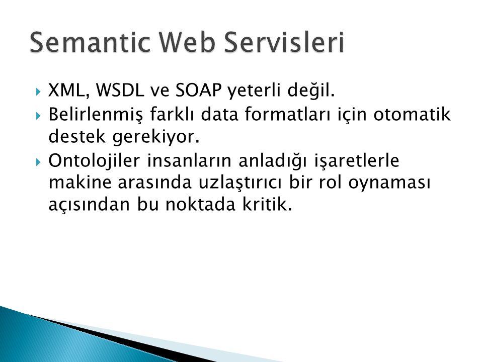 Semantic Web Servisleri