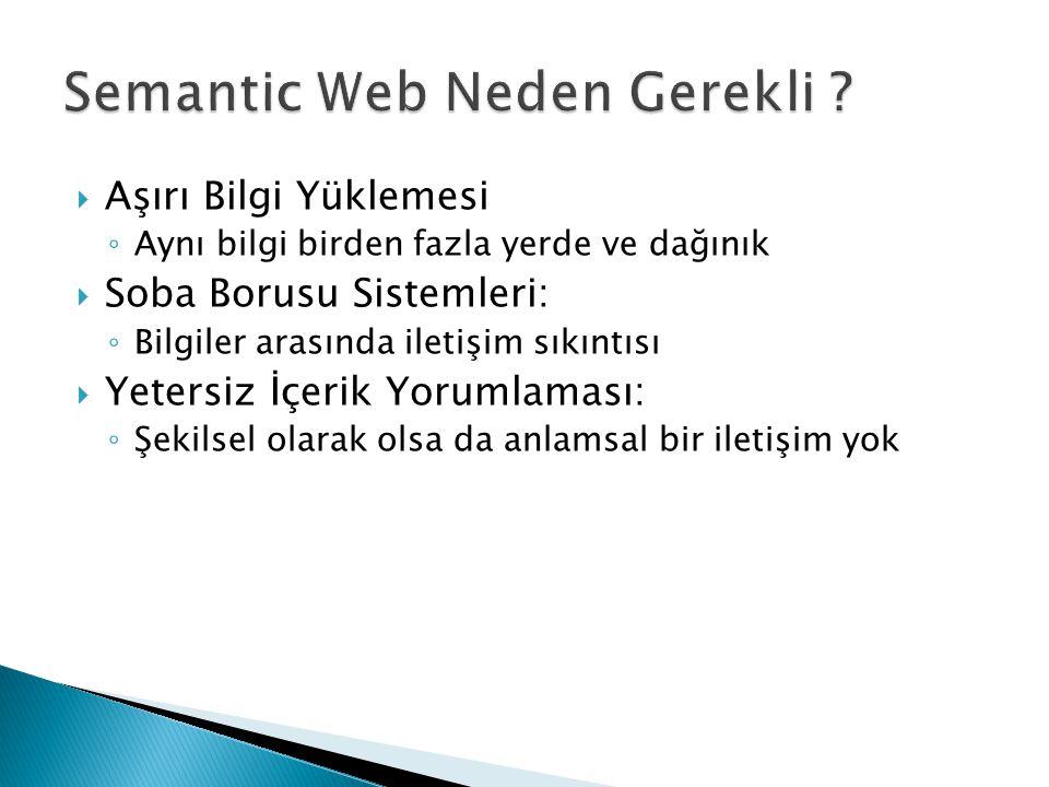 Semantic Web Neden Gerekli