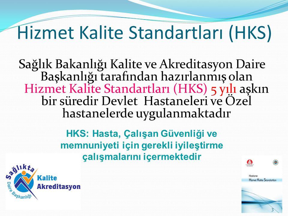 Hizmet Kalite Standartları (HKS)