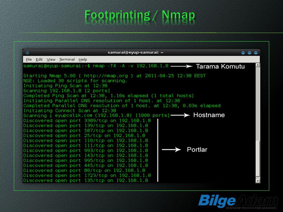 Footprinting / Nmap