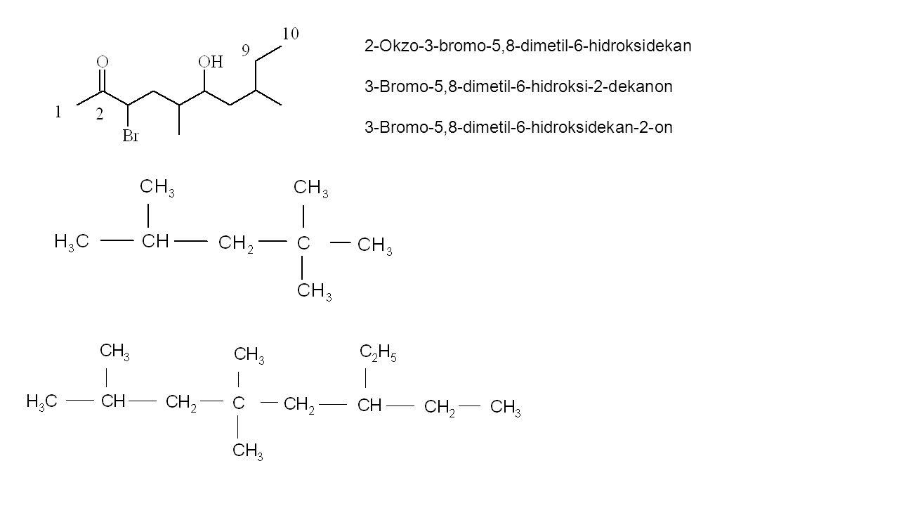 2-Okzo-3-bromo-5,8-dimetil-6-hidroksidekan