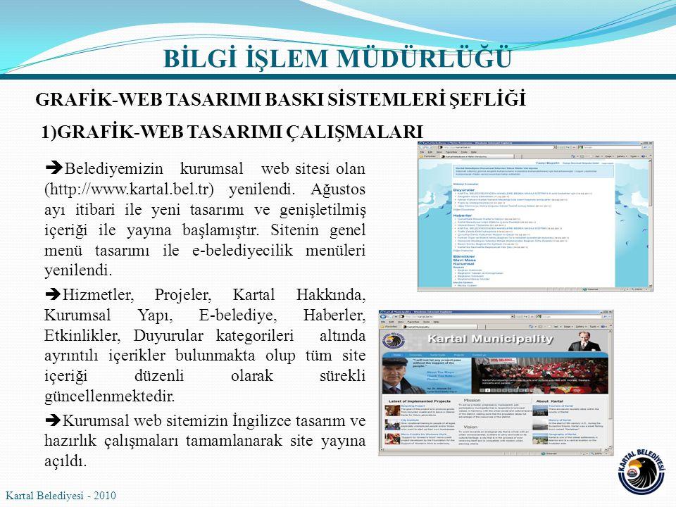 BİLGİ İŞLEM MÜDÜRLÜĞÜ GRAFİK-WEB TASARIMI BASKI SİSTEMLERİ ŞEFLİĞİ
