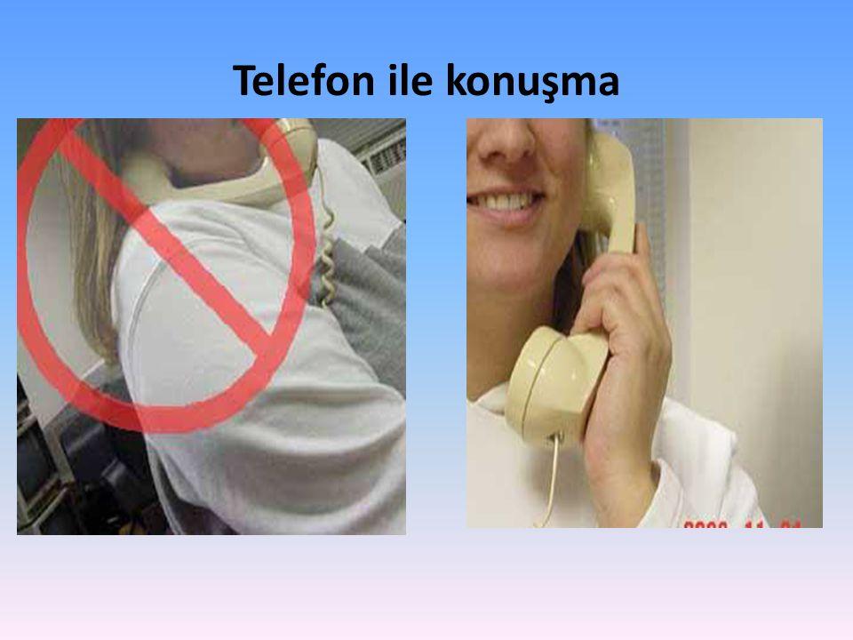 Telefon ile konuşma