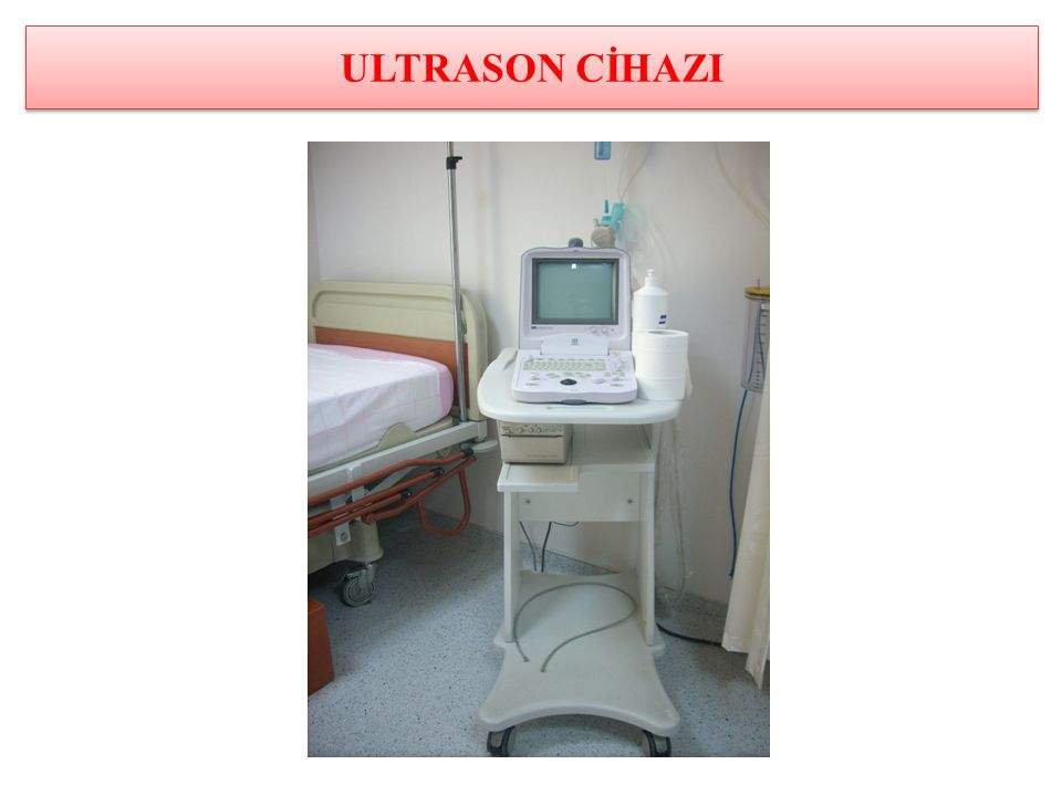 ULTRASON CİHAZI
