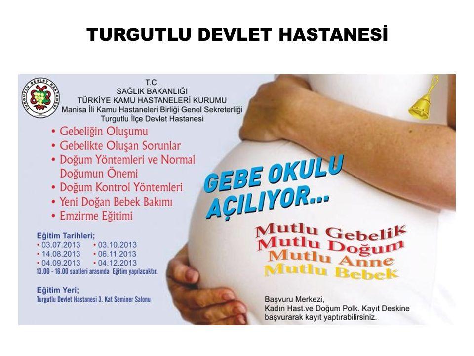 TURGUTLU DEVLET HASTANESİ