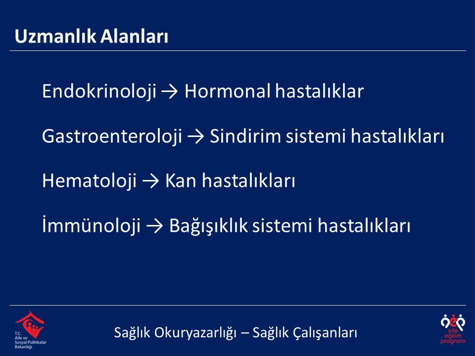 Endokrinoloji → Hormonal hastalıklar