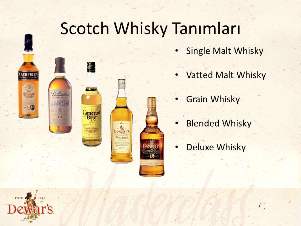 Scotch Whisky Tanımları