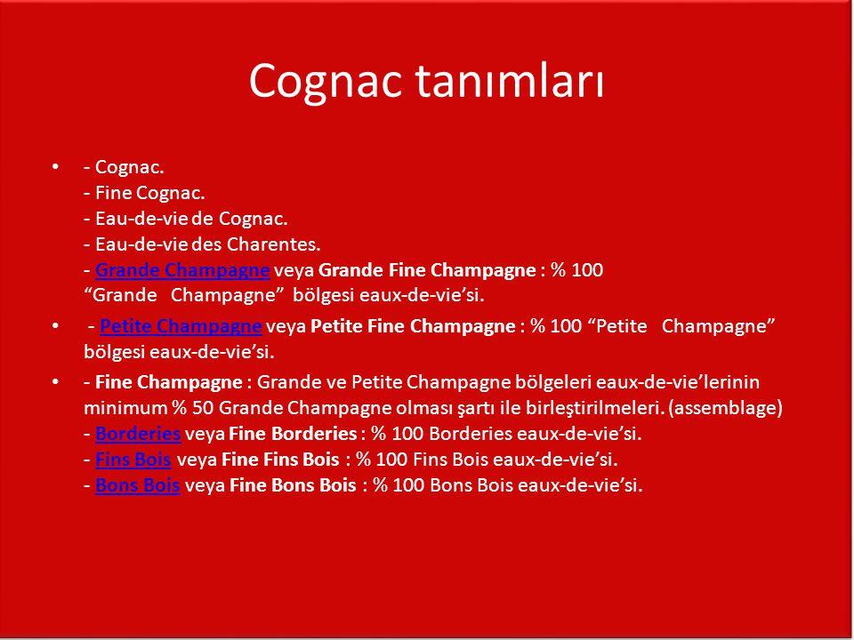 Cognac tanımları