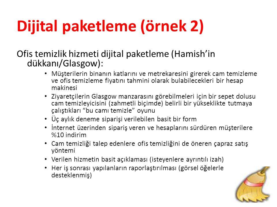 Dijital paketleme (örnek 2)