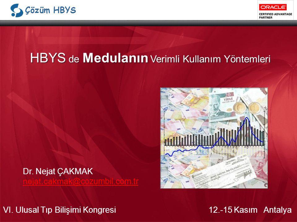 HBYS de Medulanın Verimli Kullanım Yöntemleri