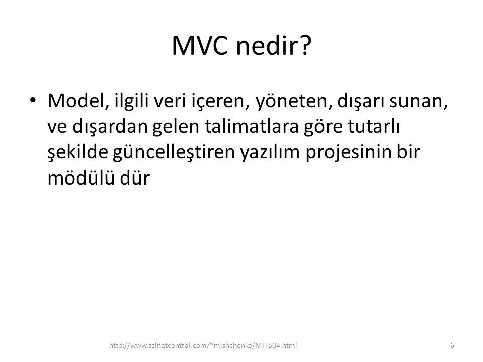 MVC nedir
