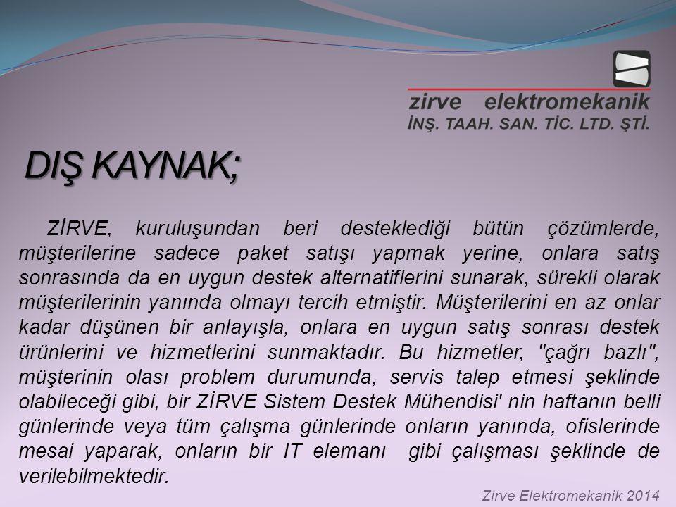 DIŞ KAYNAK;
