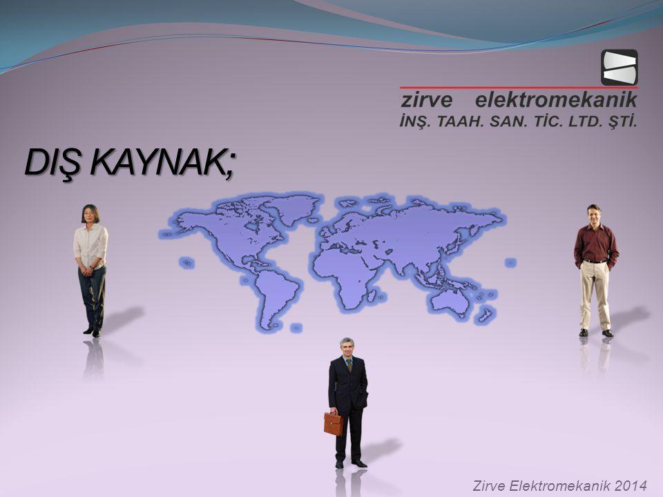 DIŞ KAYNAK; Zirve Elektromekanik 2014