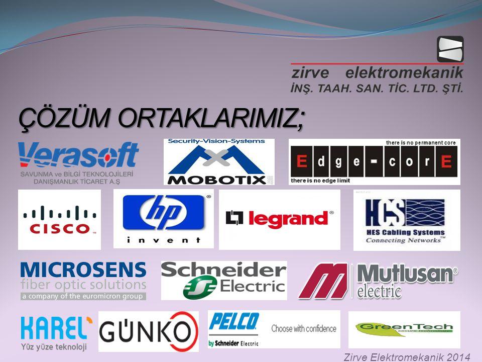 ÇÖZÜM ORTAKLARIMIZ; Zirve Elektromekanik 2014