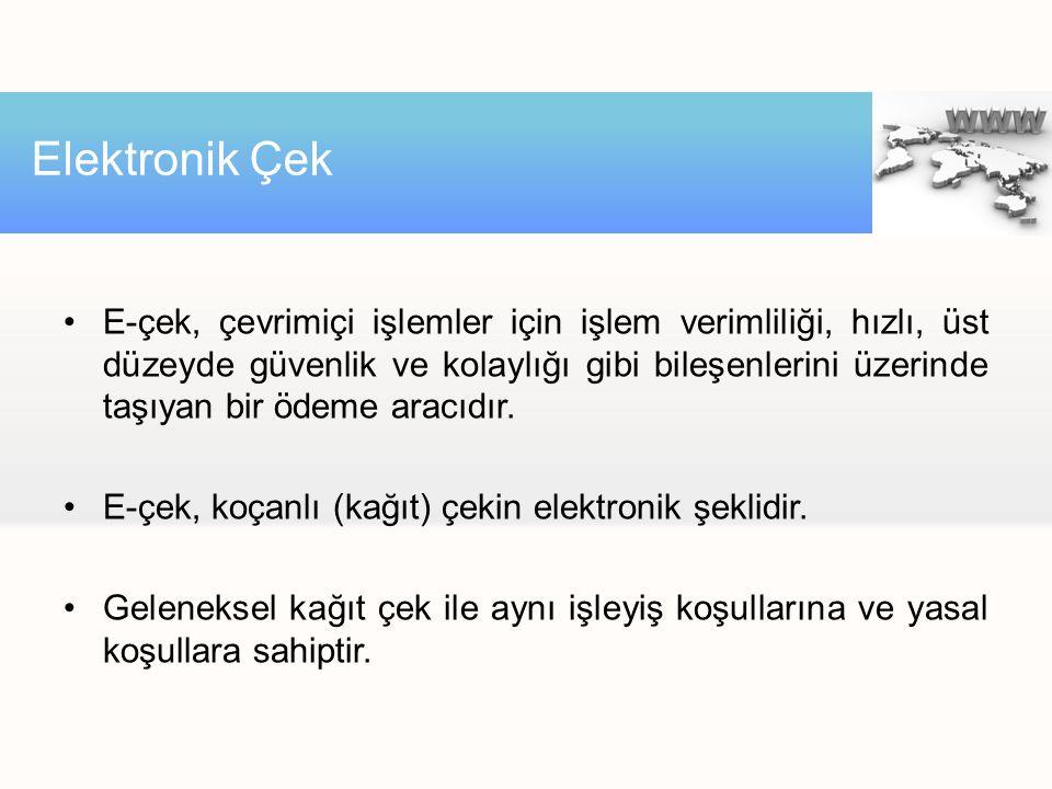 Elektronik Çek