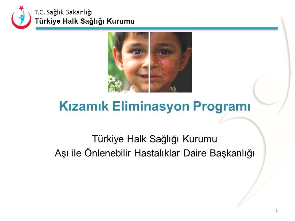 Kızamık Eliminasyon Programı