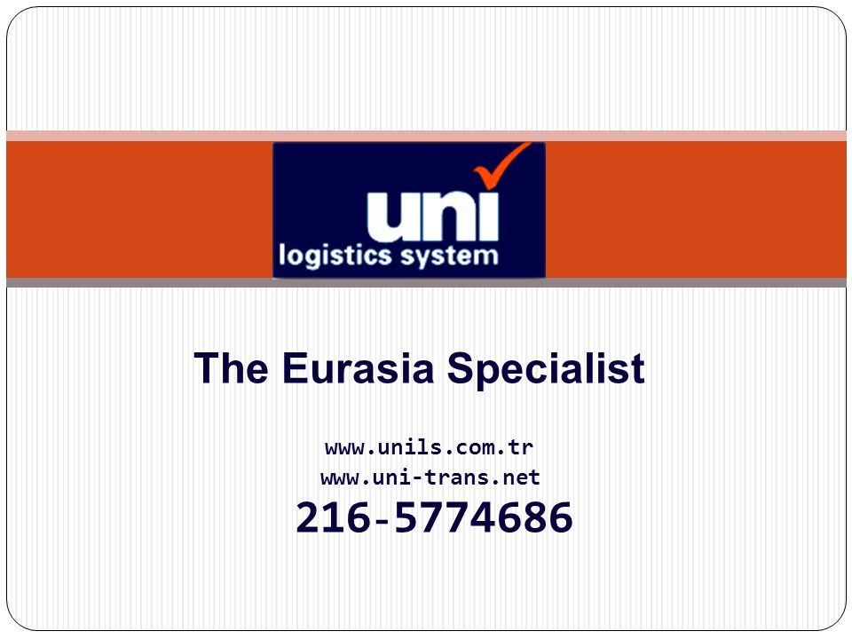 The Eurasia Specialist