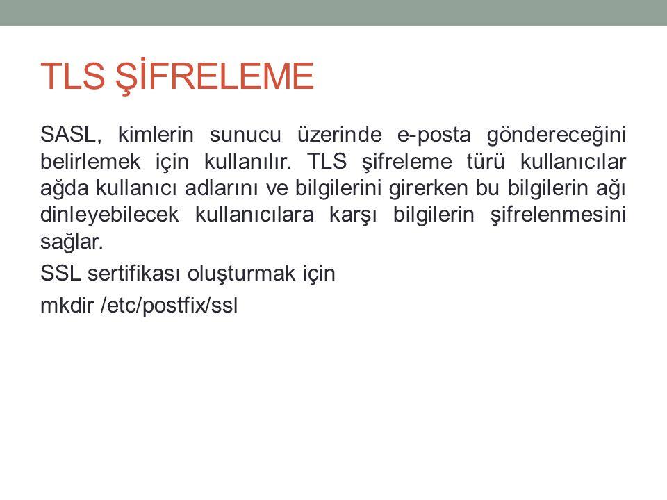 TLS ŞİFRELEME