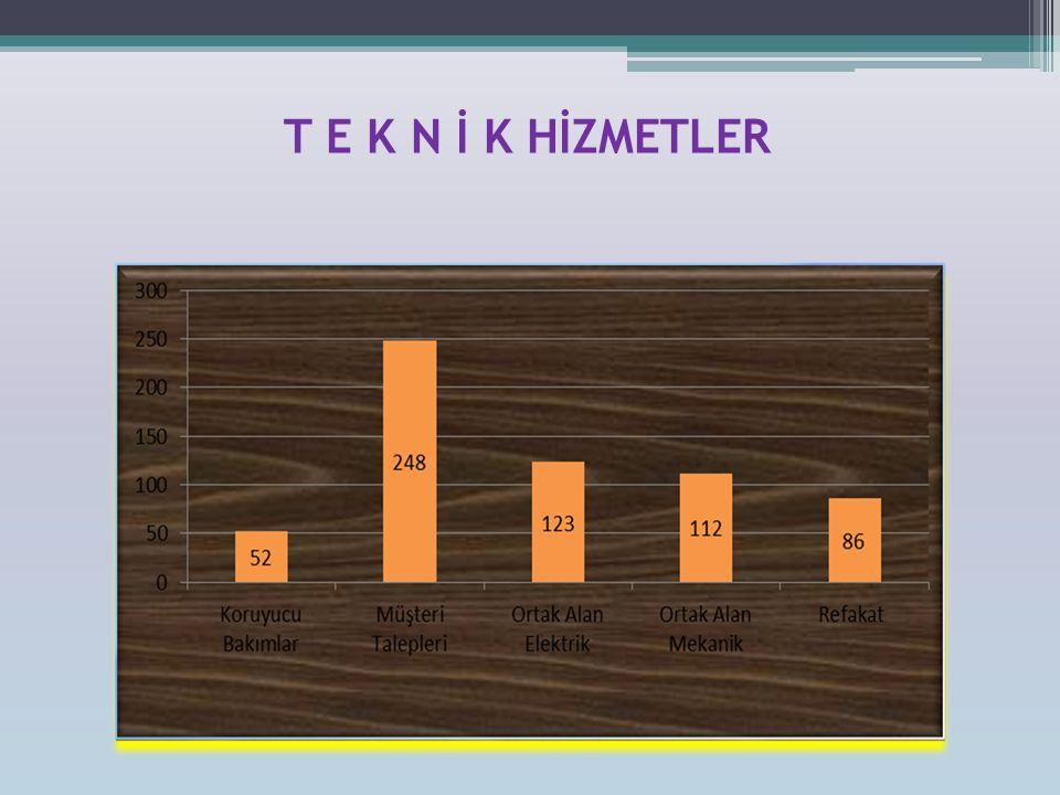T E K N İ K HİZMETLER