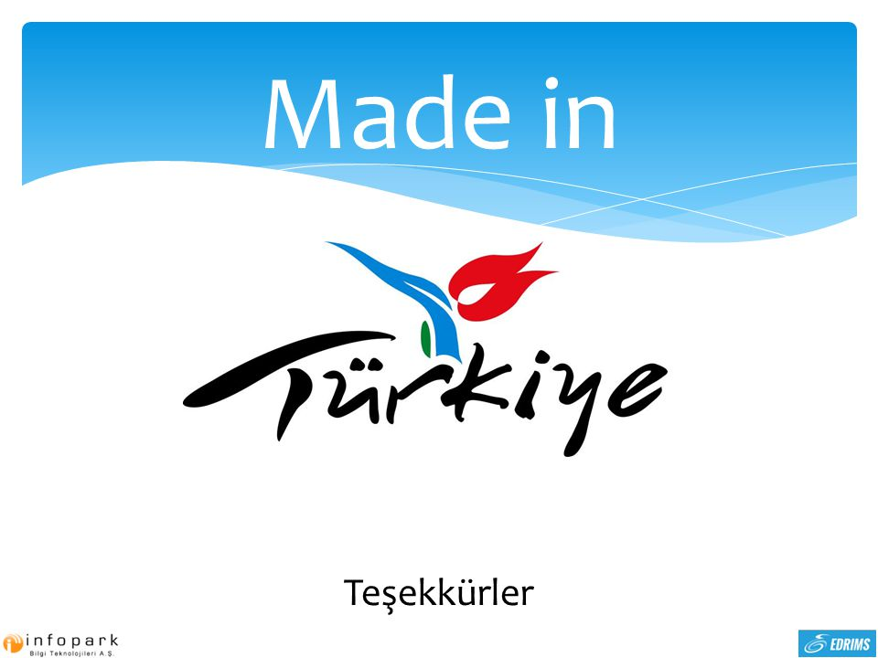 Made in Laleli Made in Turkey Teşekkürler