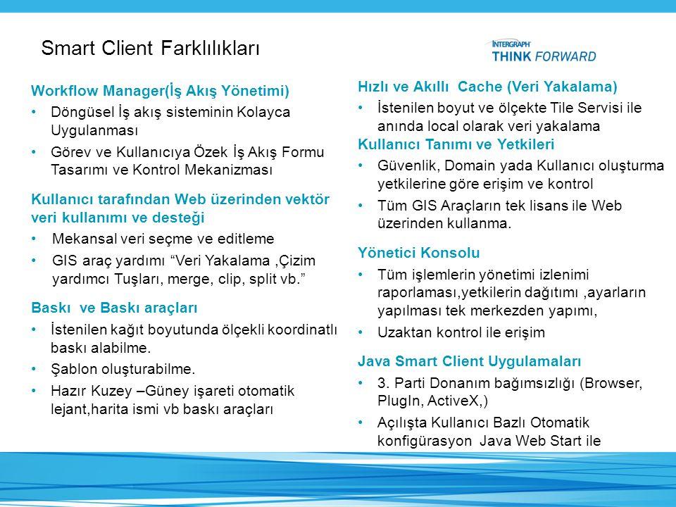 Smart Client Farklılıkları