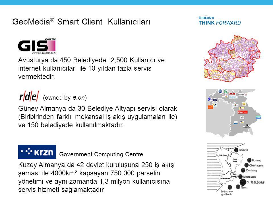 GeoMedia® Smart Client Kullanıcıları