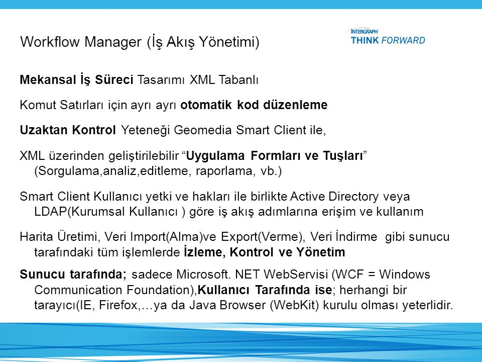 Workflow Manager (İş Akış Yönetimi)