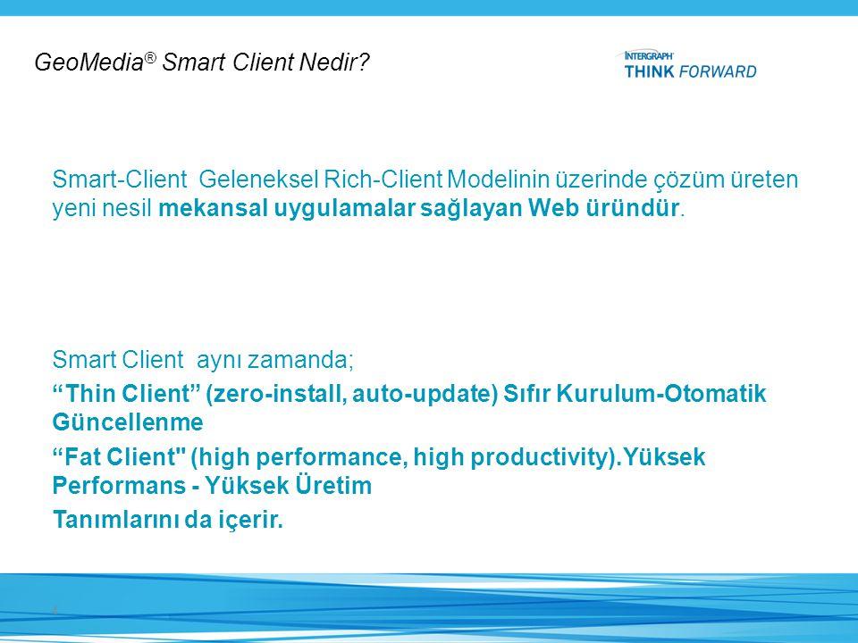 GeoMedia® Smart Client Nedir