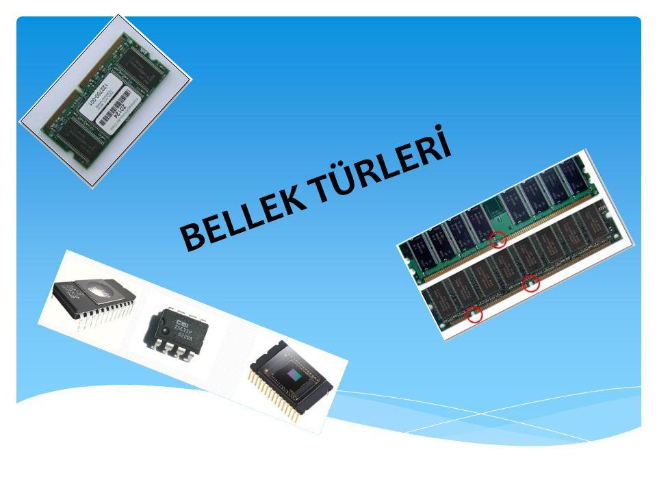 BELLEK TÜRLERİ