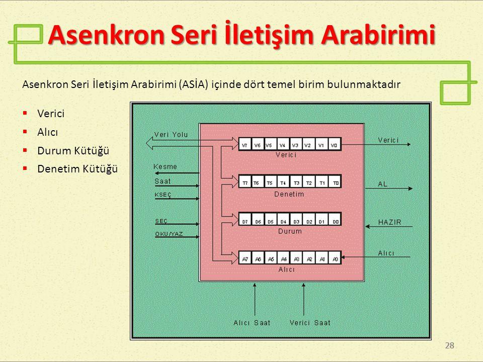 Asenkron Seri İletişim Arabirimi