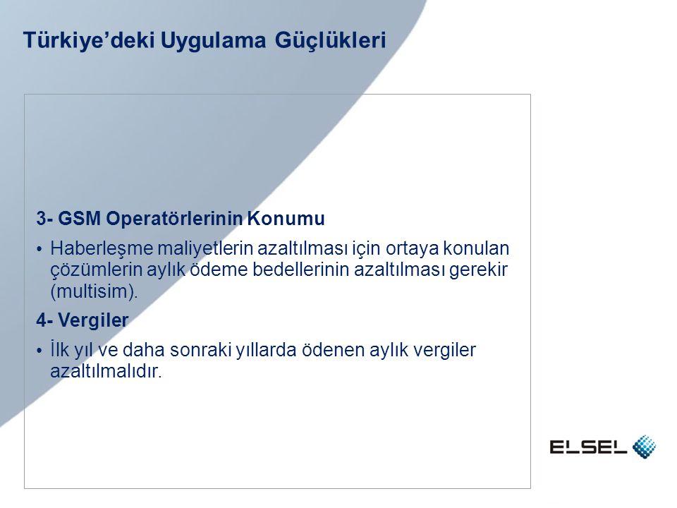 Türkiye'deki Uygulama Güçlükleri