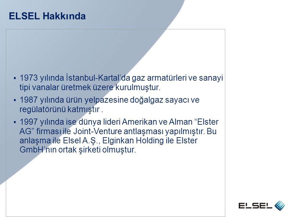 ELSEL Hakkında 1973 yılında İstanbul-Kartal'da gaz armatürleri ve sanayi tipi vanalar üretmek üzere kurulmuştur.