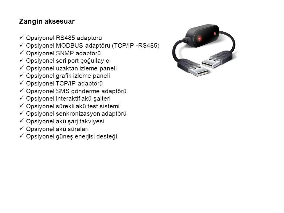 Zangin aksesuar Opsiyonel RS485 adaptörü