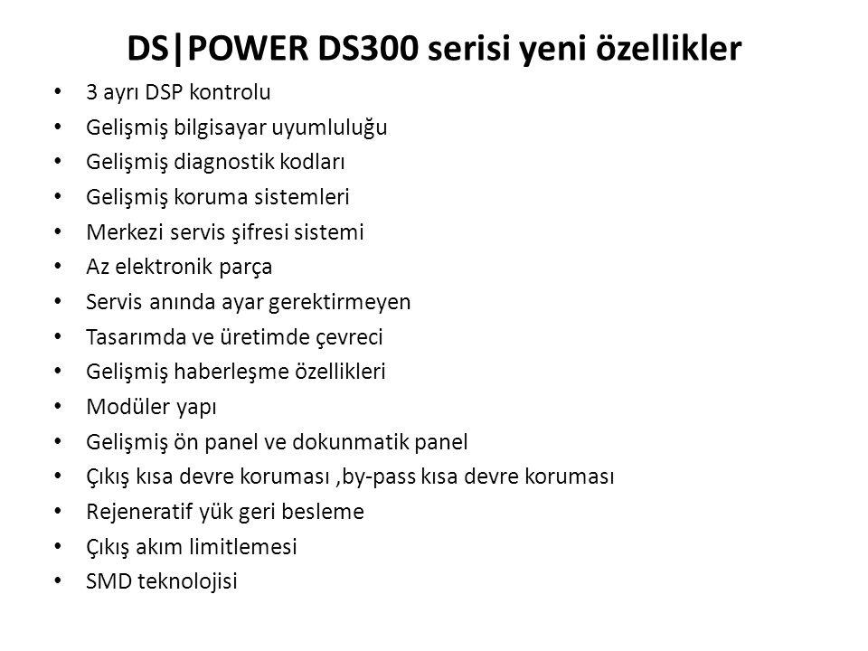 DS|POWER DS300 serisi yeni özellikler