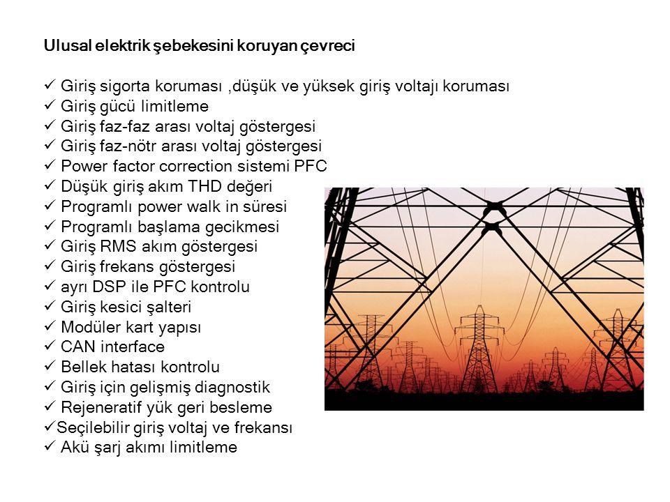 Ulusal elektrik şebekesini koruyan çevreci