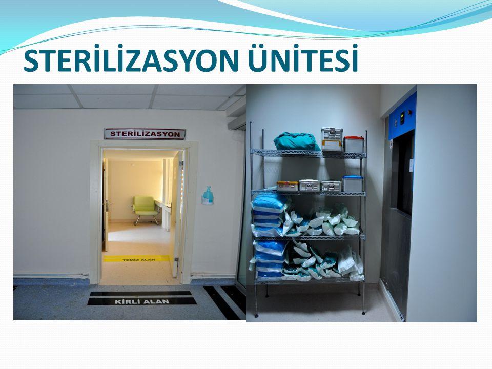 STERİLİZASYON ÜNİTESİ