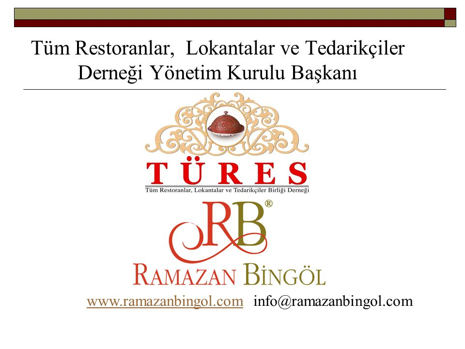 www.ramazanbingol.com info@ramazanbingol.com