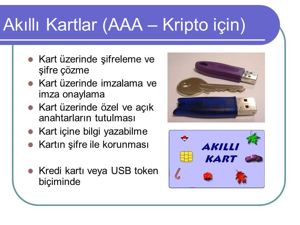 Akıllı Kartlar (AAA – Kripto için)