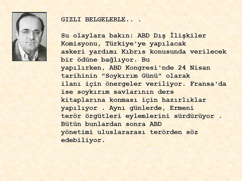 GIZLI BELGELERLE..