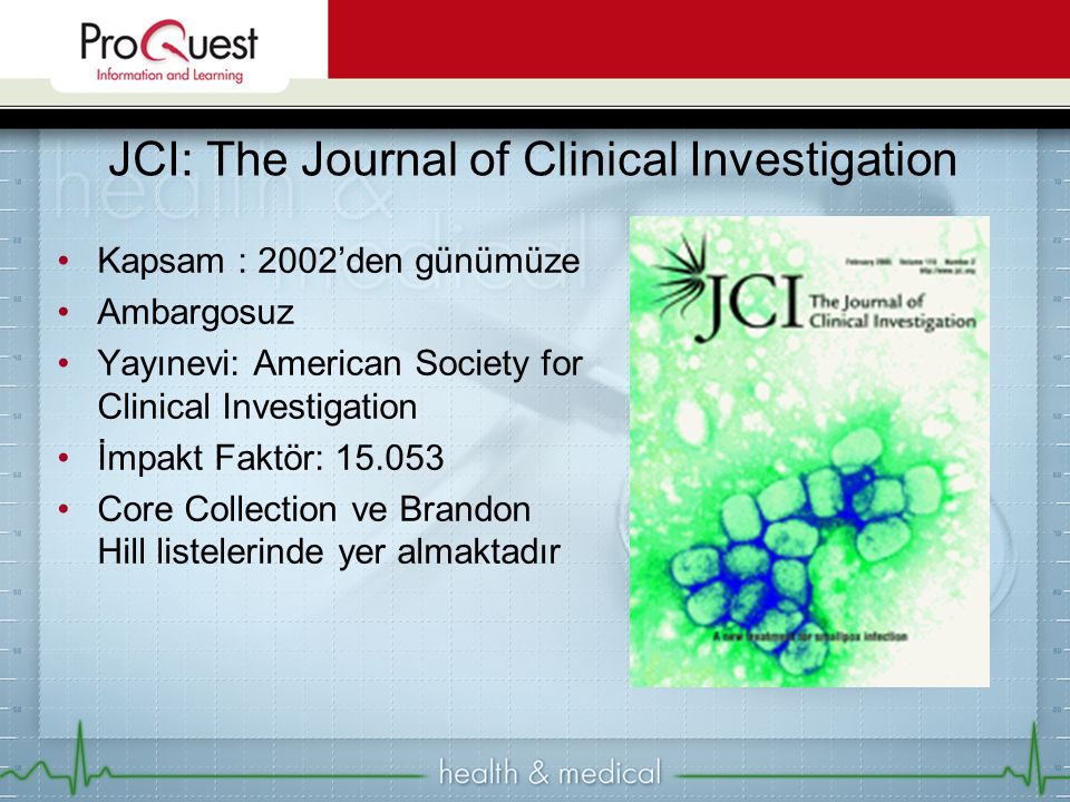 JCI: The Journal of Clinical Investigation